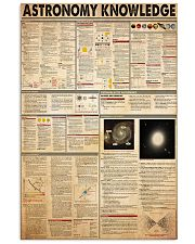 astronomy-knowledge 11x17 Poster front