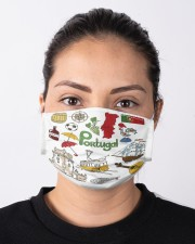 portugal map mas  Cloth Face Mask - 3 Pack aos-face-mask-lifestyle-01
