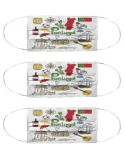 portugal map mas  Cloth Face Mask - 3 Pack front