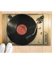 "vinyl turntable mat phq-nth Doormat 22.5"" x 15""  aos-doormat-22-5x15-lifestyle-front-03"