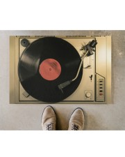 "vinyl turntable mat phq-nth Doormat 22.5"" x 15""  aos-doormat-22-5x15-lifestyle-front-04"