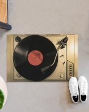 "vinyl turntable mat phq-nth Doormat 22.5"" x 15""  aos-doormat-22-5x15-lifestyle-front-07"