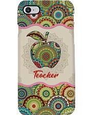 Teacher mandala phonecase  Phone Case i-phone-8-case