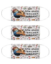 5th-grade-teacher-squad-mas  Cloth Face Mask - 3 Pack front