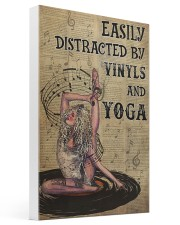 vinyls And Yoga distracted pt lqt nna 16x24 Gallery Wrapped Canvas Prints thumbnail