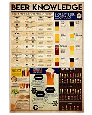 beer knowledge 11x17 Poster front