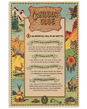 scout boy outdoor code pt phq ngt 11x17 Poster front