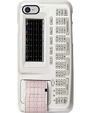 electrocardiography pc phq-ntv Phone Case i-phone-8-case