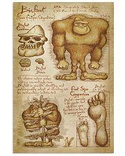 bigfoot da Vinc  11x17 Poster front