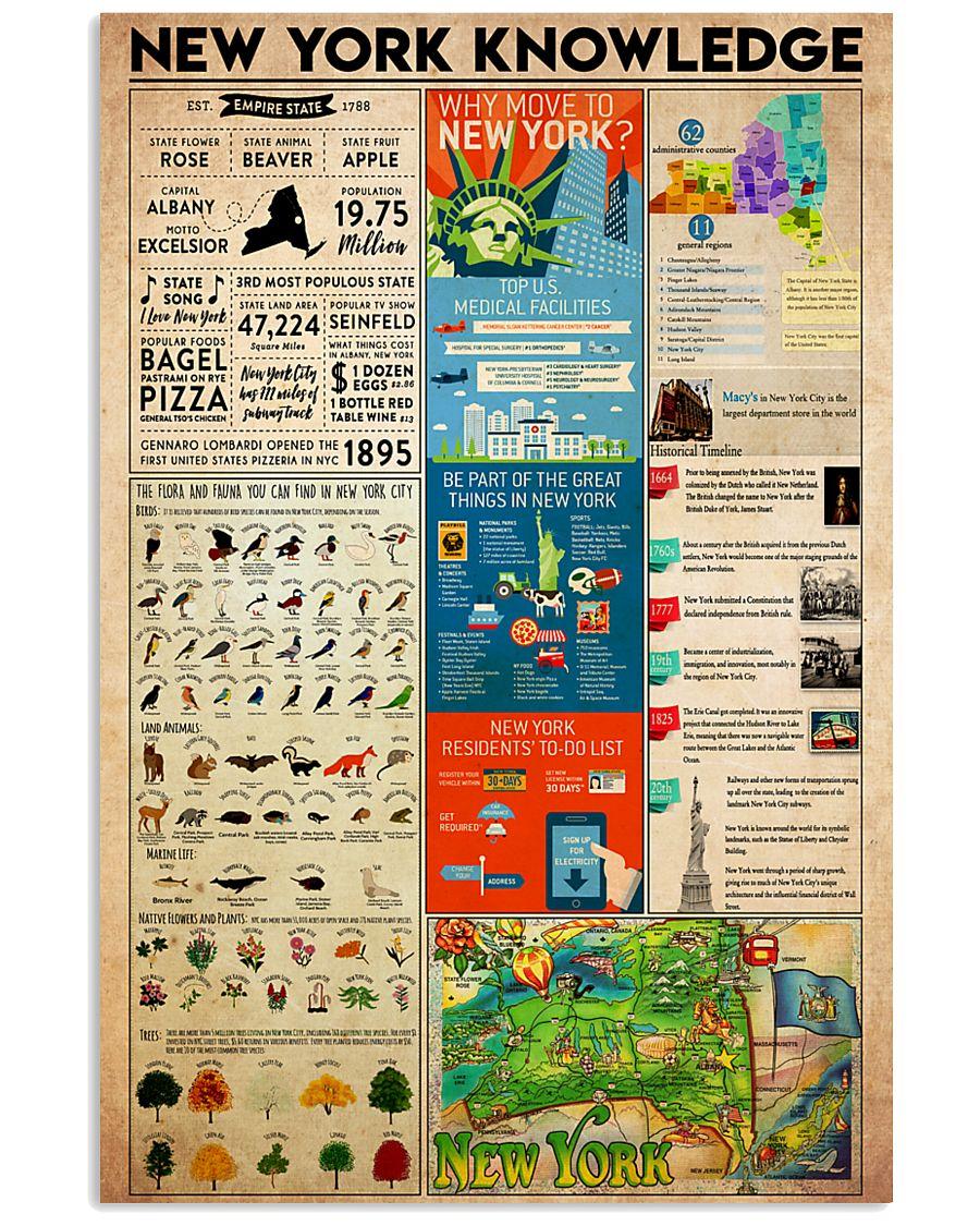 Newyork Knowledge 11x17 Poster