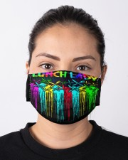 lunch lady niche color mas  Cloth Face Mask - 3 Pack aos-face-mask-lifestyle-01