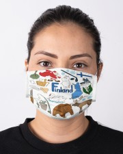 finland map mas  Cloth Face Mask - 3 Pack aos-face-mask-lifestyle-01