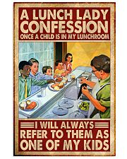 lunch lady confession 11x17 Poster front