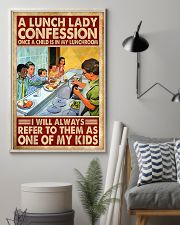 lunch lady confession 11x17 Poster lifestyle-poster-1
