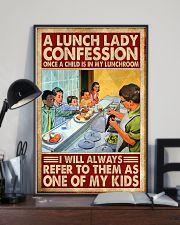lunch lady confession 11x17 Poster lifestyle-poster-2