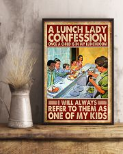 lunch lady confession 11x17 Poster lifestyle-poster-3