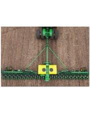 """Joh deer tractor doormat dvhh-nth Doormat 34"""" x 23"""" front"""
