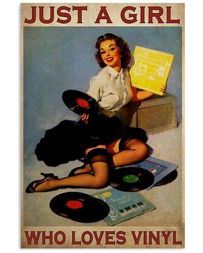just a Girl Loves Vinyl