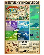 KENTUCKY KNOWLEDGE 11x17 Poster front