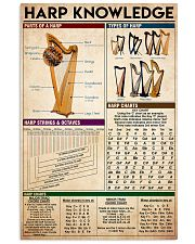 harp knowledge 11x17 Poster front
