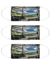 bus driver inside mas Cloth Face Mask - 3 Pack front