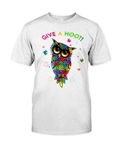 autism owl Give A Hoot