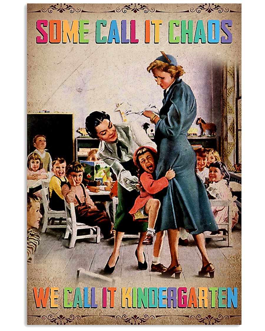kindergarten teacher poster 11x17 Poster