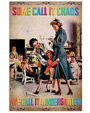 kindergarten teacher poster 11x17 Poster front