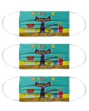 pre-k groovy mas  Cloth Face Mask - 3 Pack front