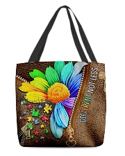 autism different not less all tote lqt-NTH All-over Tote front