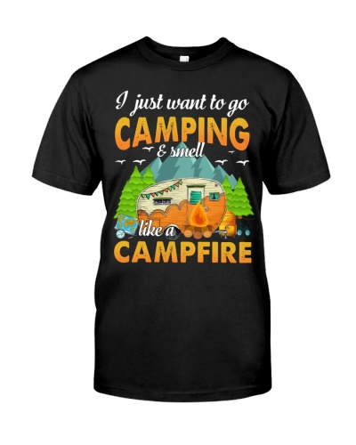 Camping smell like Campfire