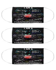 life changing paraprofessional mas  Cloth Face Mask - 3 Pack front