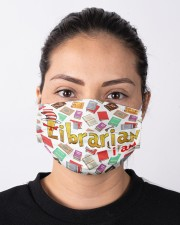 librarian i am mas Cloth Face Mask - 3 Pack aos-face-mask-lifestyle-01