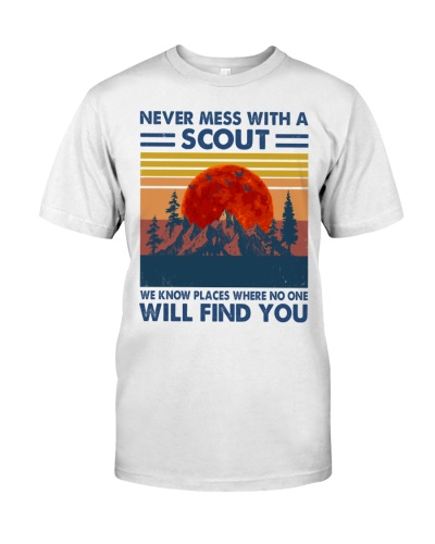 scouting never mess wirh a scout