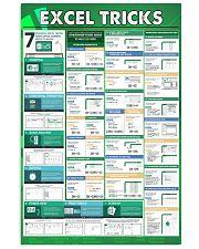 Excel tricks 16x24 Poster front