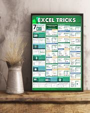 Excel tricks 16x24 Poster lifestyle-poster-3