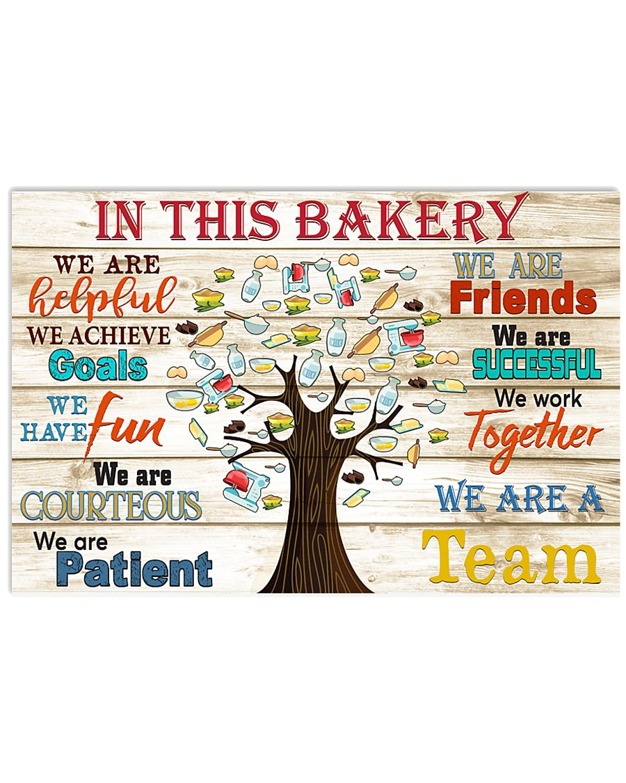 in this Bakery 17x11 Poster
