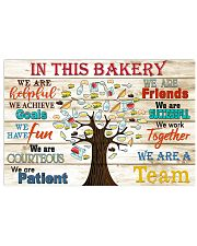 in this Bakery 17x11 Poster front
