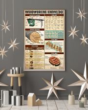 Woodworking Knowledge 24x36 Poster lifestyle-holiday-poster-1