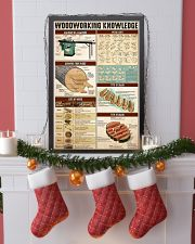 Woodworking Knowledge 24x36 Poster lifestyle-holiday-poster-4
