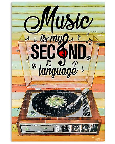 vinyl Music Is My Second Language