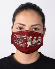 lunch lady dedicated-even-from a distance mas Cloth Face Mask - 3 Pack aos-face-mask-lifestyle-01
