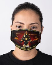 ancient egyptian mas1 Cloth Face Mask - 3 Pack aos-face-mask-lifestyle-01