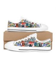 bigfoot plate sho  Women's Low Top White Shoes tile