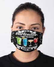 bartender cant fix stupid mas Cloth Face Mask - 3 Pack aos-face-mask-lifestyle-01