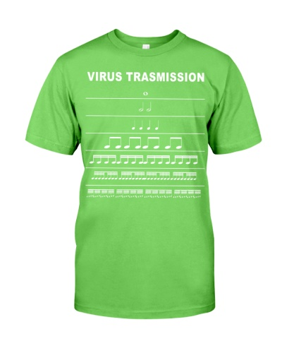 virus transmission funny music notes