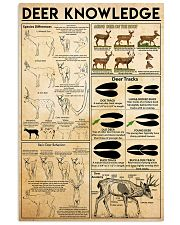 Deer Knowledge 11x17 Poster front