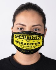 Beekeeper see me running mas Cloth Face Mask - 3 Pack aos-face-mask-lifestyle-01