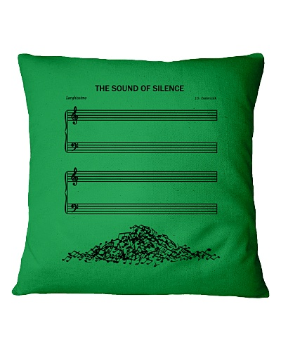 sound of silence pillow