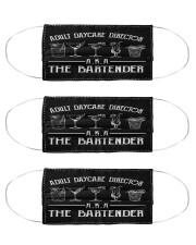 bartender adcd mas Cloth Face Mask - 3 Pack front